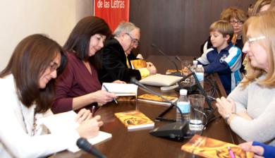 Presentación de Territorio líquido en el Centro Andaluz de las Letras